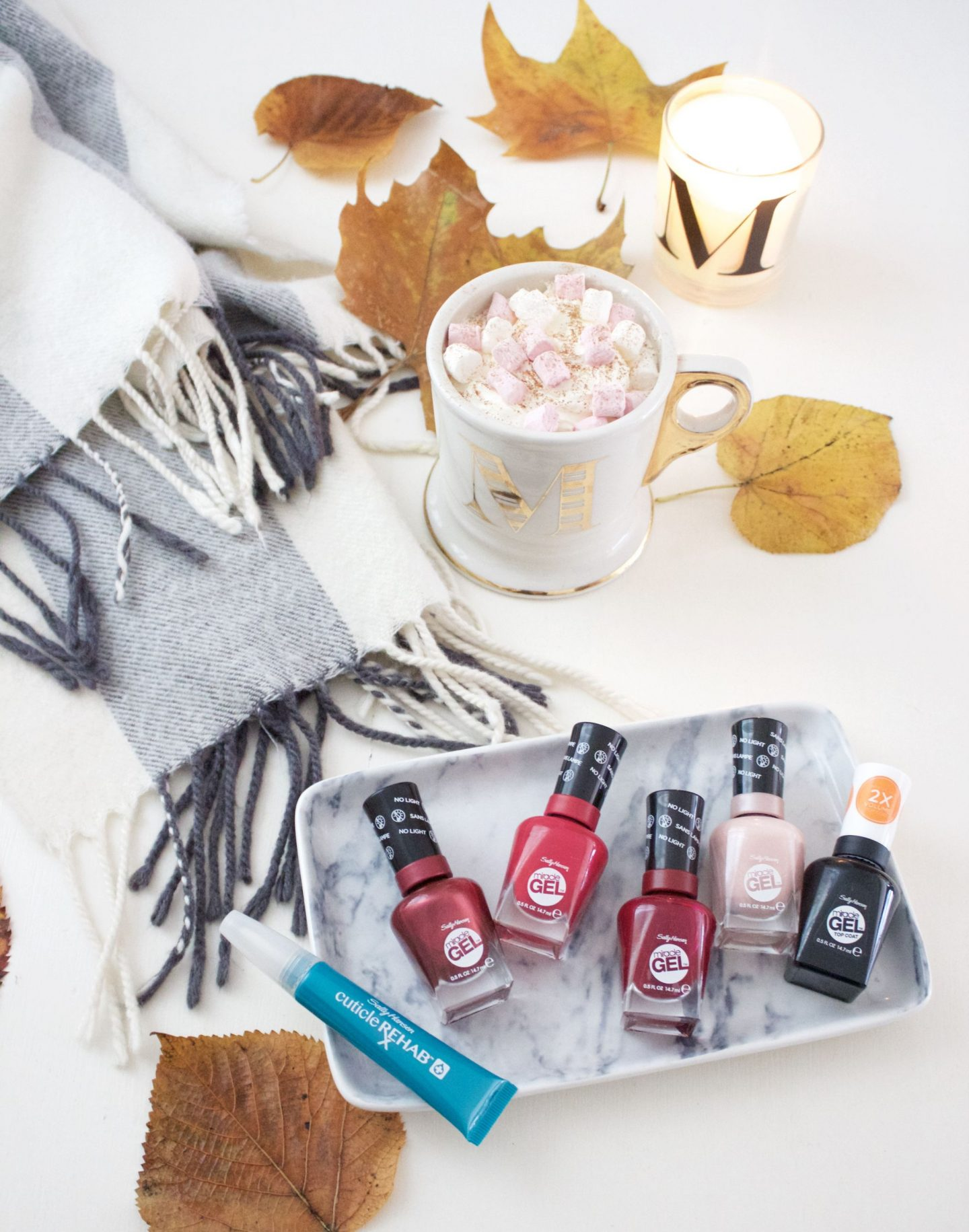 autumn nail routine
