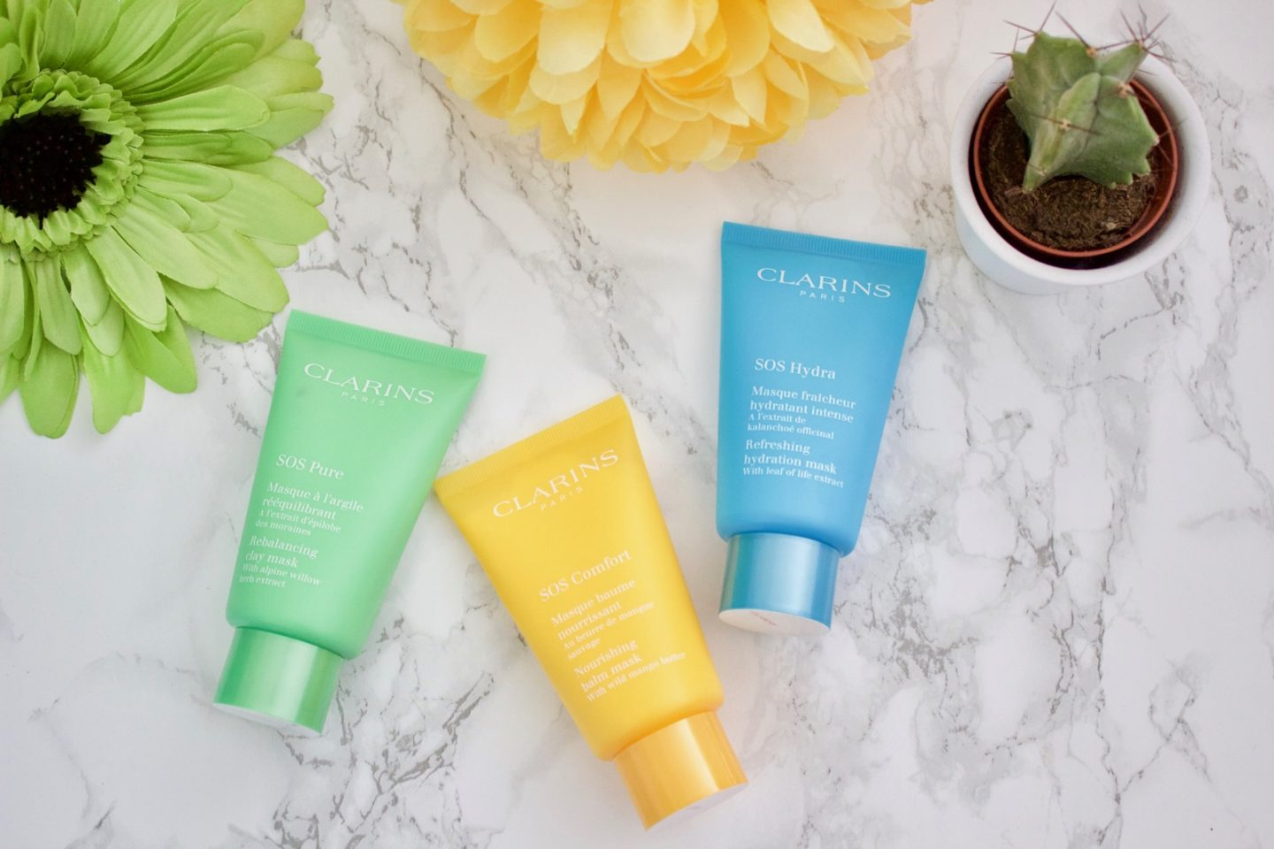 Clarins SOS Face Masks