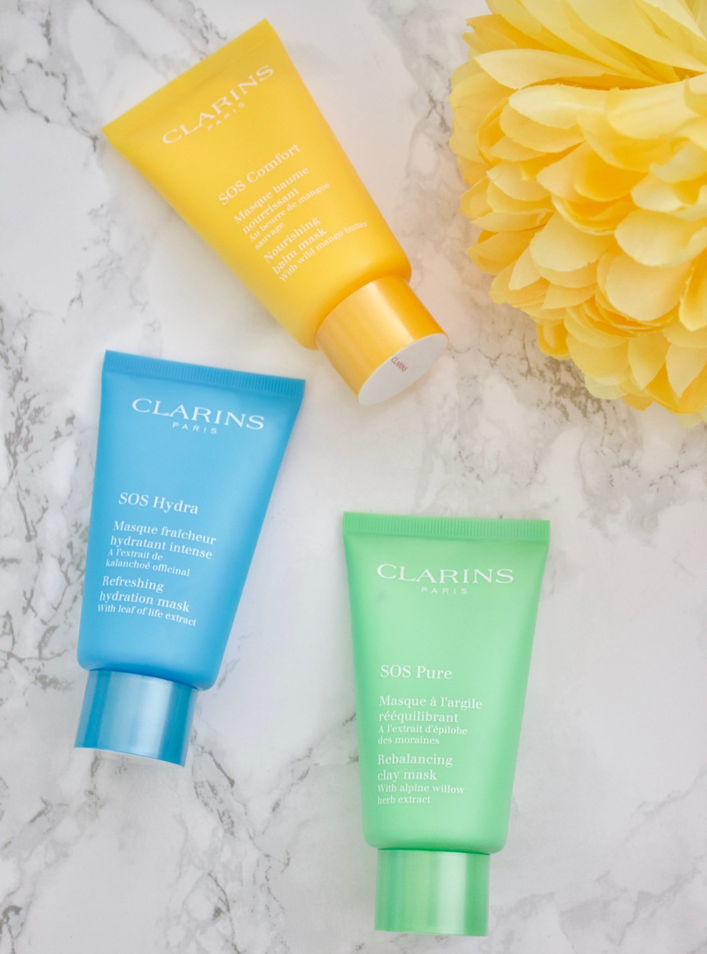 SOS Comfort Nourishing Balm Mask by Clarins #5