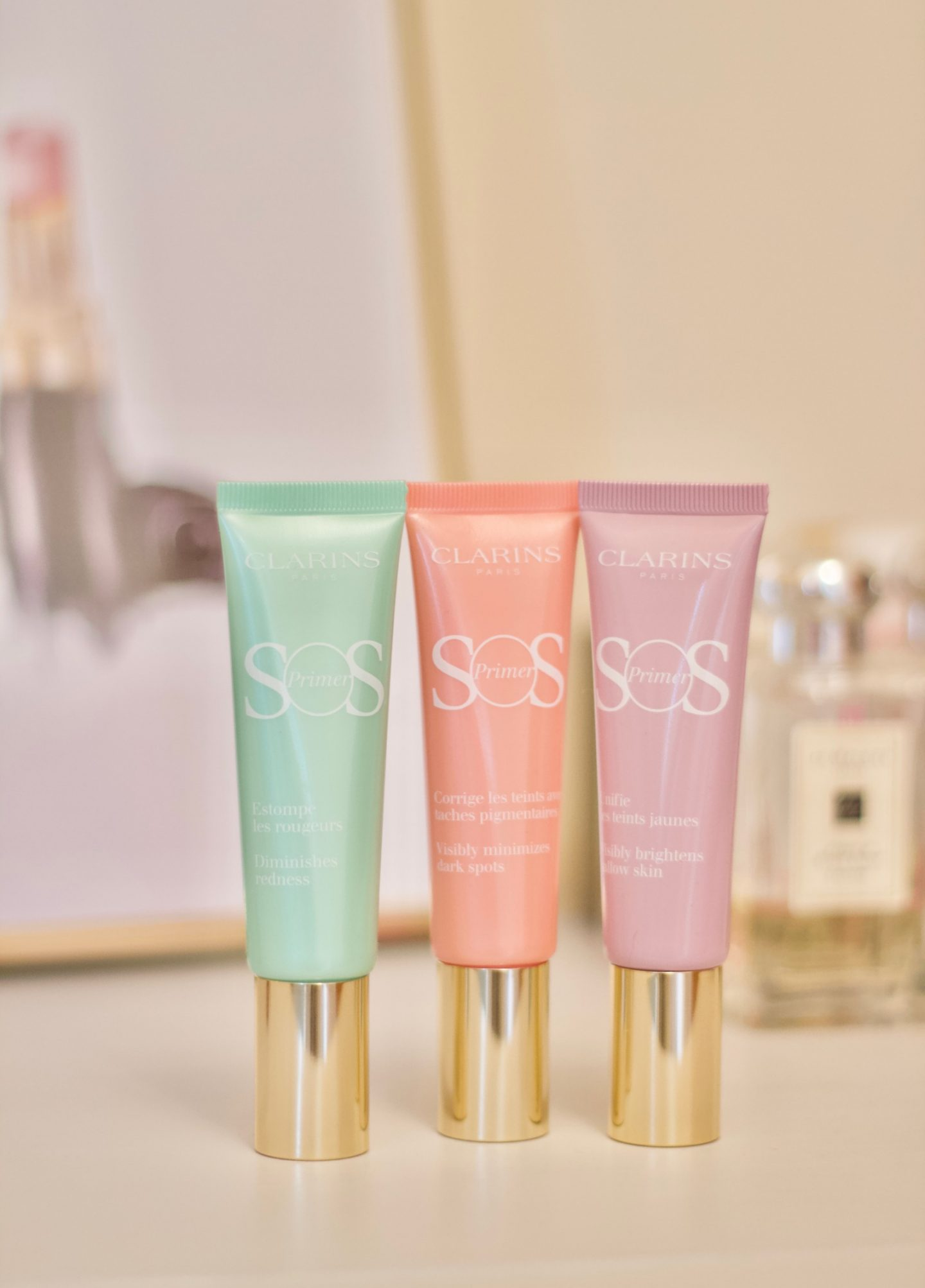 Clarins Colour Definition Fall 2011 Makeup Collection: Clarins SOS Colour-Correcting Primers